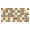 American Olean 12-Pack Lyndhurst Mosaics Meadow Ceramic Mosaic Square Floor Tile (Common: 12-in x 24-in; Actual: 12-in x 24-in)