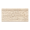 American Olean Designer Elegance Botticino Ceramic Listello Tile (Common: 4-in x 8-in; Actual: 4-in x 8-in)