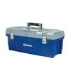 Kobalt 25.9-in Blue Plastic Tool Box