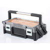 Keter 9-3/8-in Black Resin Tool Box