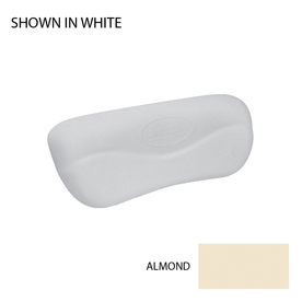 Jacuzzi 6-in x 15-in Almond Curved Pillow