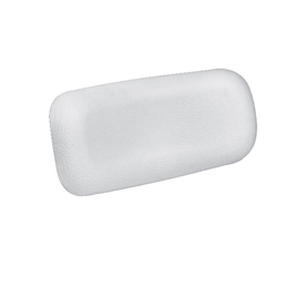 Jacuzzi 4-in x 9-in White Small Curved Neck Pillow