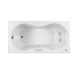 display product reviews for espree 60 in white acrylic drop in whirlpool tub withshop bathtubs at - Bathtubs At Lowes