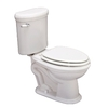 Jacuzzi Era 959 White 1.6-GPF (6.06-LPF) 12-in Rough-in Elongated 2-Piece Comfort Height Toilet