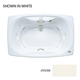 sabella 2 person oyster acrylic hourglass in rectangle whirlpool tub