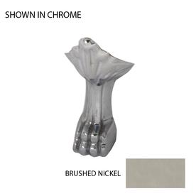 Jacuzzi 4-Pack Brushed Nickel Bathtub Feet