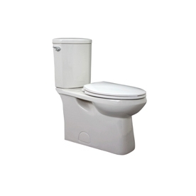 Jacuzzi Espree White 1.28-GPF (4.85-LPF) 12-in Rough-in WaterSense Elongated 2-Piece Comfort Height Toilet