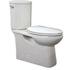 Jacuzzi Espree White 1.28 GPF High Efficiency WaterSense Elongated 2-Piece Toilet