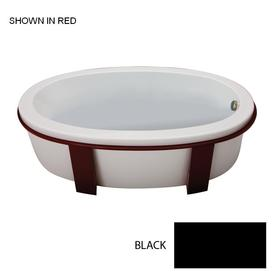 Jacuzzi 4-Pack Black Bathtub Base