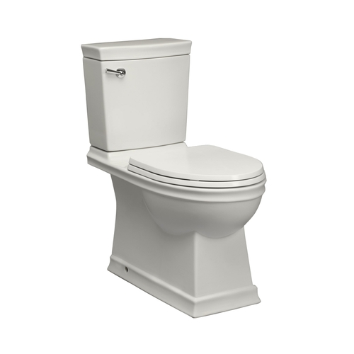 Zoomed: Jacuzzi Prestige White High Efficiency WaterSense Elongated 2-Piece Toilet