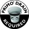 Jacuzzi Primo 60-in L x 32-in W x 19-in H White Acrylic Rectangular Drop-in Air Bath