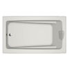 Jacuzzi 72-in L x 42-in W x 21-in H Primo White Rectangular Air Bath