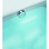 Jacuzzi 1-1/2-in Brushed Nickel Foot Lock with Plastic Pipe