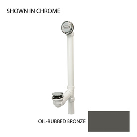 Jacuzzi 1-1/2-in Oil-Rubbed Bronze Foot Lock with Plastic Pipe