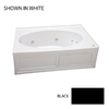 Jacuzzi Nova Acrylic Oval in Rectangle Whirlpool Tub (Common: 42-in x 60-in; Actual: 18.5-in x 42-in x 60-in)