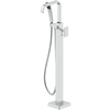 Jacuzzi PRIMO Polished Chrome 1-Handle Fixed Freestanding Bathtub Faucet