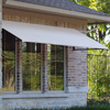 Awntech 52.5-in Wide x 36-in Projection Solid Open Slope Window/Door Awning