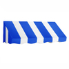 Awntech 40.5-in Wide x 36-in Projection Stripe Slope Window/Door Awning