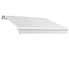 Awntech 120-in Wide x 96-in Projection Solid Slope Patio Retractable Manual Awning