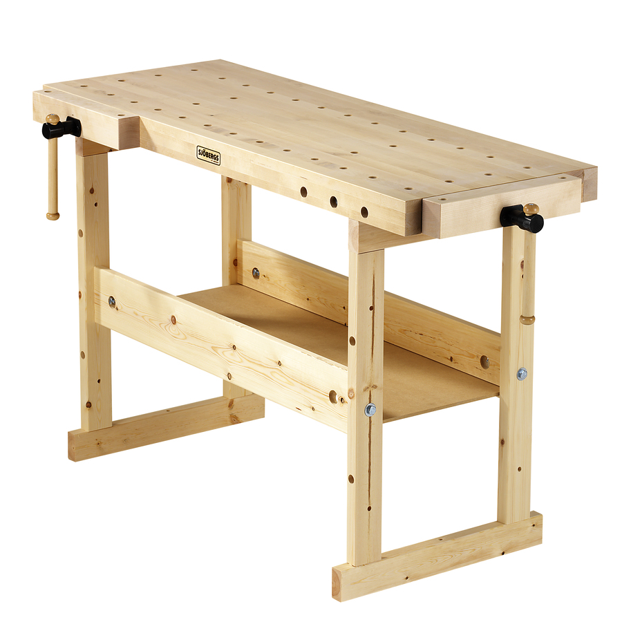 Shop Sjobergs 33.875-in Wood Work Bench at Lowes.com