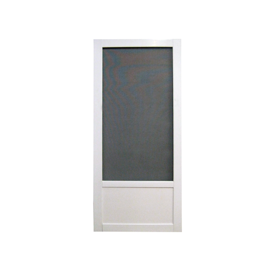 Aluminum screen lowes aluminum screen doors for Front door screen doors lowes