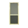 Screen Tight Liberty 36-in Natural Wood Screen Door