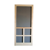 Screen Tight Fredrick Natural Wood Screen Door