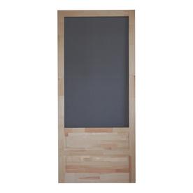 shop screen tight wood screen door common 36 in x 80 in