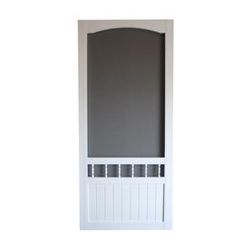 shop screen tight vinyl screen door common 30 in x 80 in actual 30 in x 80 in at. Black Bedroom Furniture Sets. Home Design Ideas