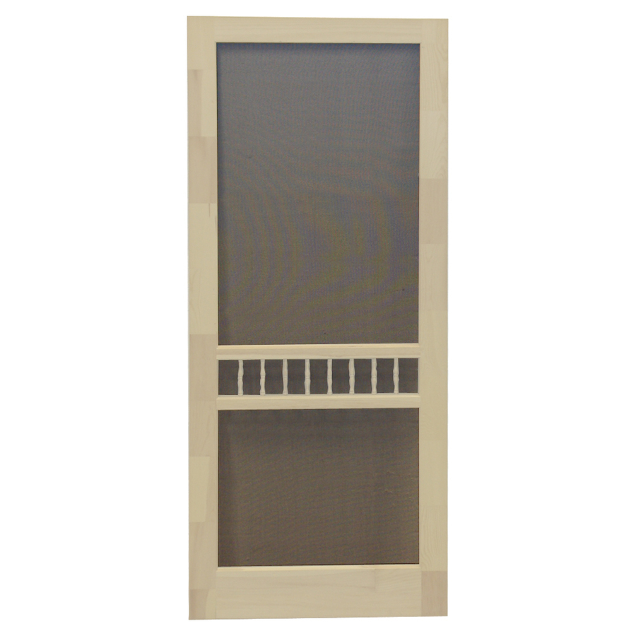 Shop screen tight arbor lyndhurst timber wood screen door for Wood screen doors