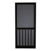 Screen Tight 5-Bar Black Wood Screen Door (Common: 36-in x 80-in; Actual: 36-in x 80-in)