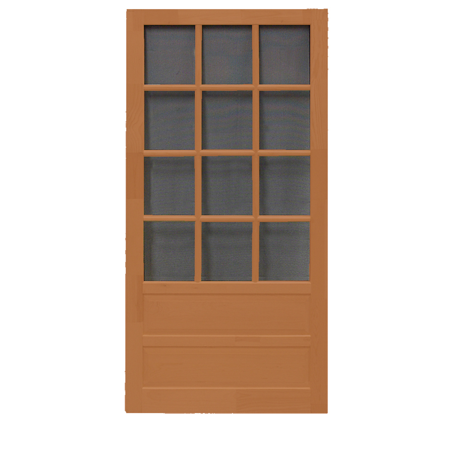 Wooden screen doors casual cottage