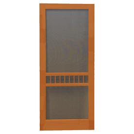 shop screen tight arbor redwood wood screen door common
