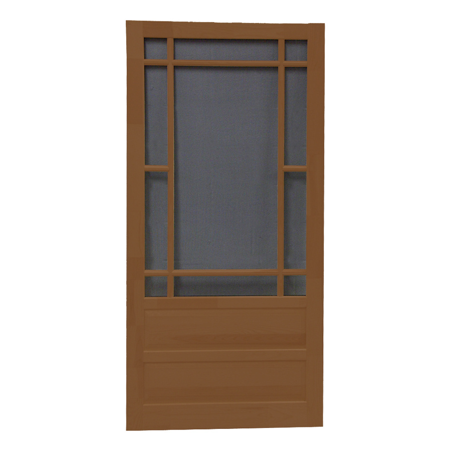 shop screen tight wood screen door common 30 in x 80 in
