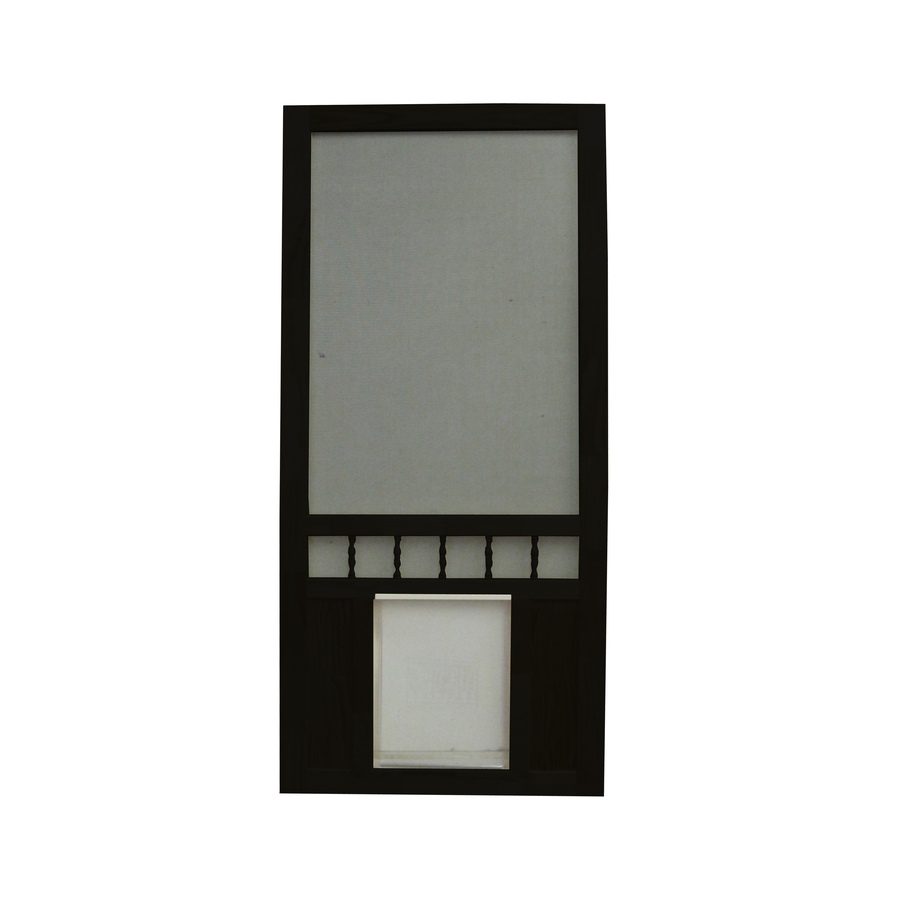 Black Screen Door : Shop screen tight southport in black wood door