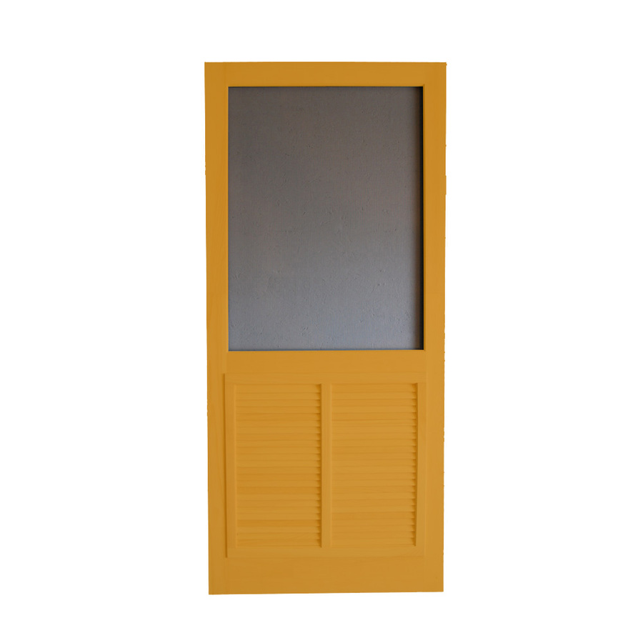 Shop screen tight ponderosa cedar naturaltone wood screen for Wood screen doors