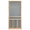 Screen Tight Creekside Natural Wood Hinged Screen Door (Common: 32-in x 80-in; Actual: 32-in x 80-in)