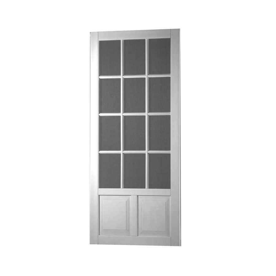 Security screen doors security screen doors lowes for Screen doors for front door