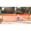 "KidKusion 36"" H x 18-ft L Orange Retractable Driveway Guard"
