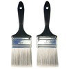 Project Source 2-Pack 3-in Wall Synthetic Paint Brush Set