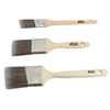 Blue Hawk 3-Pack Polyester Wall Paint Brush Variety Pack