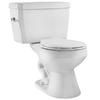 Niagara Conservation Flapperless White 1.6-GPF (6.06-LPF) 12-in Rough-in WaterSense Elongated 2-Piece Standard Height Toilet