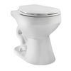 Niagara Conservation Flapperless Standard Height White 12-in Rough-In Elongated Toilet Bowl