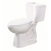 Niagara Conservation Stealth White 0.8-GPF (3.03-LPF) 12-in Rough-in WaterSense Elongated 2-Piece Comfort Height Toilet