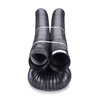FLEX-Drain 4-in x 50-ft Corrugated Solid Pipe