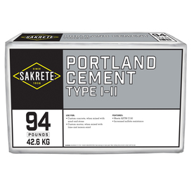 Sakrete 94-lb Gray Type-I/II Cement Mix
