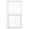 JELD-WEN 34-in x 65-in Brickmould Series Vinyl Double Pane New Construction Single Hung Window