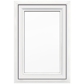 Shop jeld wen v4500 1 lite vinyl double pane double for Jeld wen casement window prices