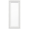 JELD-WEN V4500 1-Lite Vinyl Double Pane Double Strength New Construction Casement Window (Rough Opening: 24-in x 60-in Actual: 23.5-in x 59.5-in)