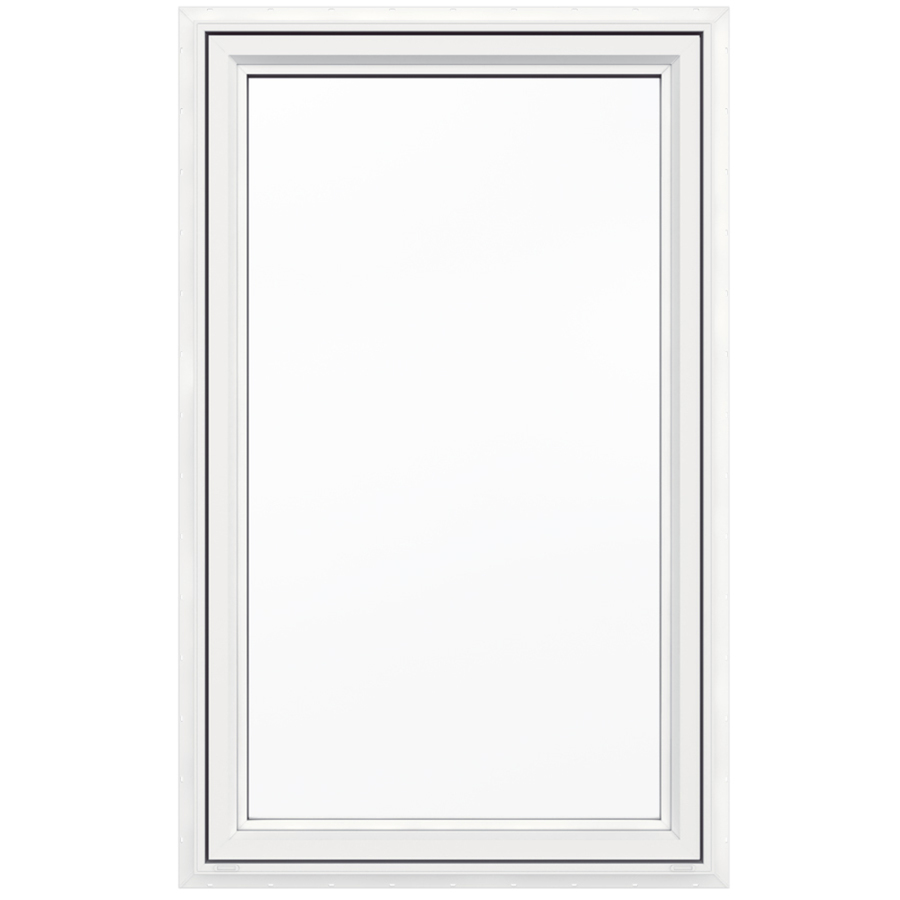 Shop jeld wen 36 in x 60 in v4500 series 1 lite vinyl Casement window reviews